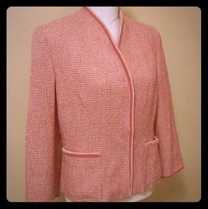 Talbots Collection Tweed Jacket! SZ 10!